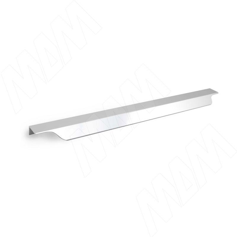 Профиль-ручка 450мм крепление саморезами алюминий полированный (27.450.7G)