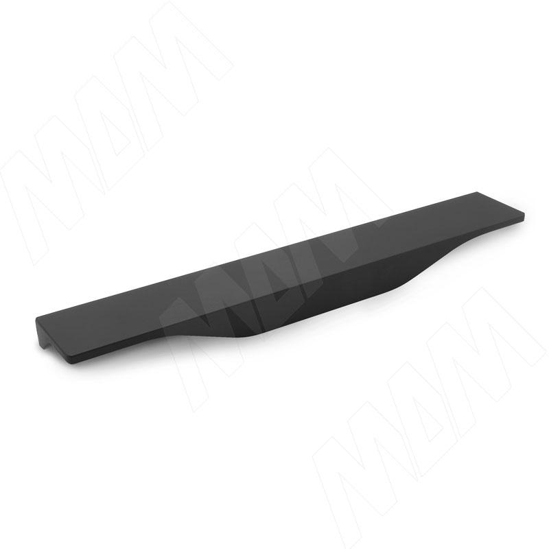 Профиль-ручка L=340мм черный матовый (3661.340.7W)