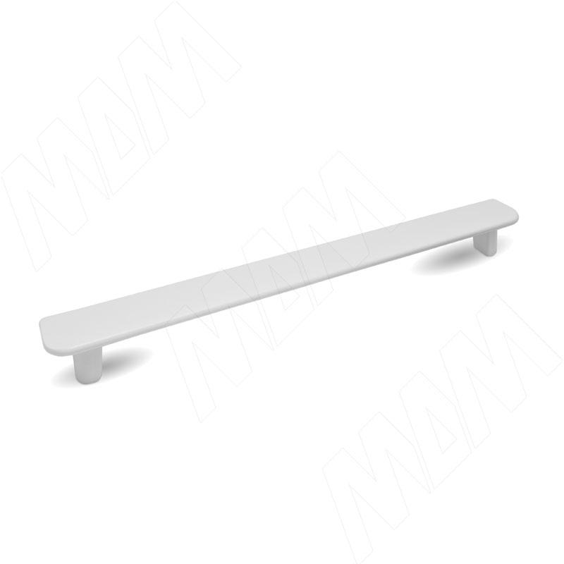 Ручка-скоба 160мм белый матовый (382.160.71)