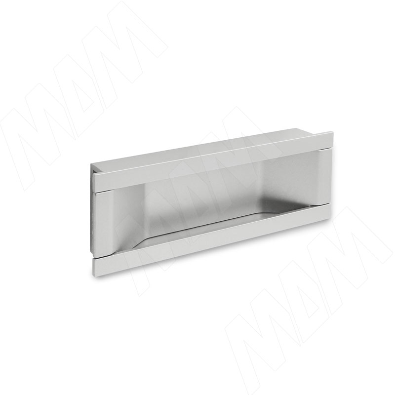 Ручка-раковина 96мм хром матовый (405C.96.31) ручка раковина 96мм титан 405c 96 69