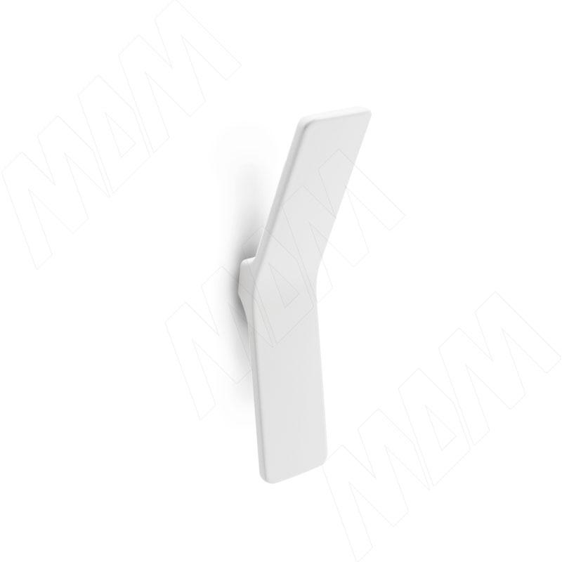 Ручка-кнопка белый матовый (410.71)