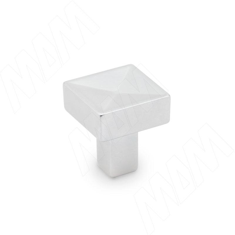 TRIBAL Ручка-кнопка хром матовый (A-1272.G6)