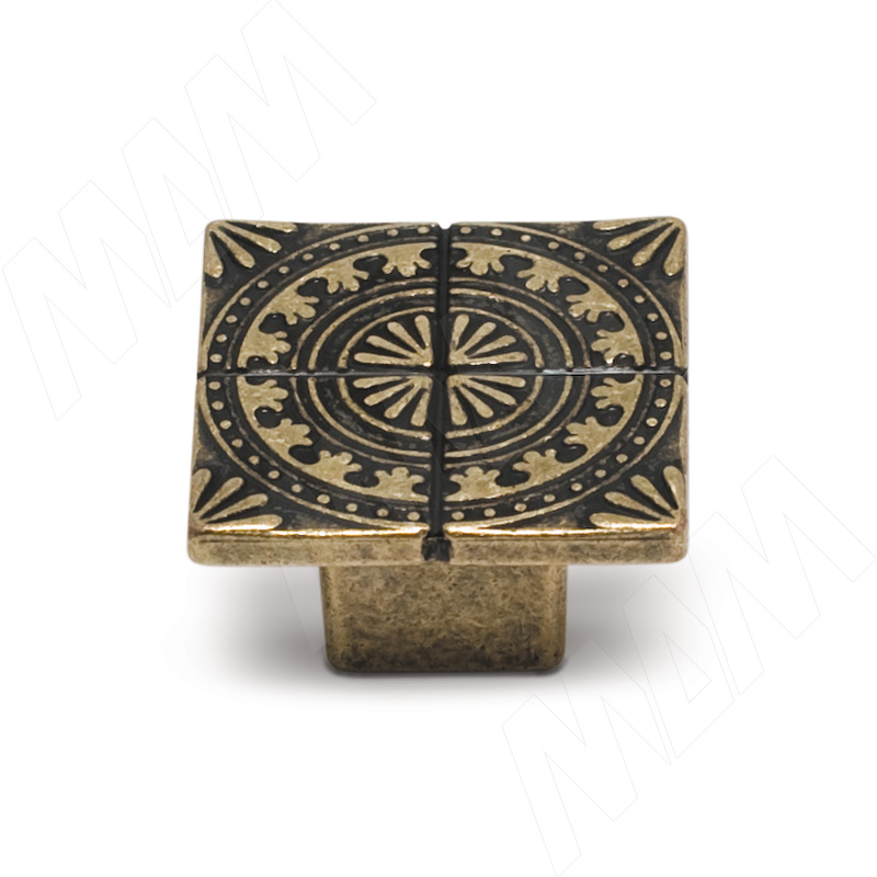 SPARTA Ручка-кнопка бронза состаренная (A-1434.G4)