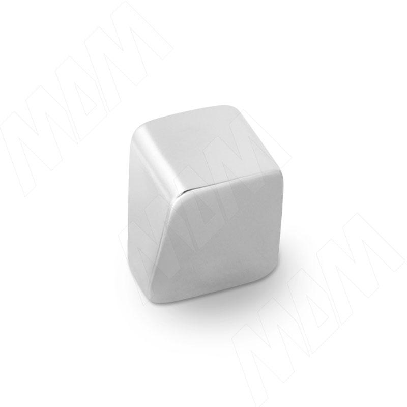 ALVERO Ручка-кнопка хром матовый (A-1542.G6)