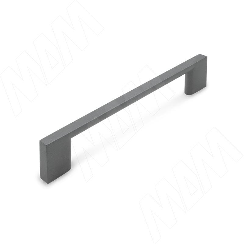 Ручка-скоба 128мм графит (BH.01.128.GF)
