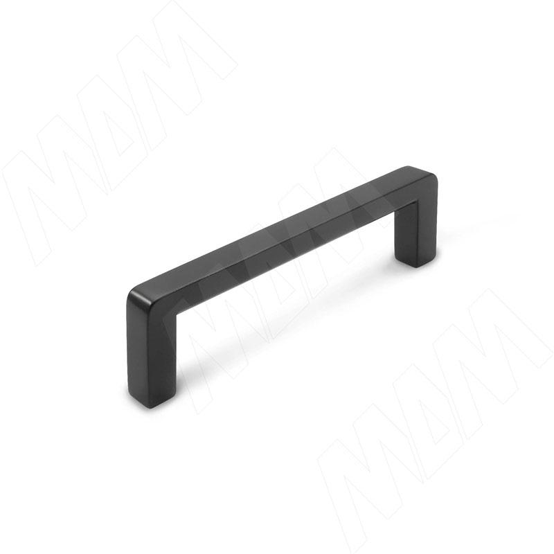 Фото - Ручка-скоба 96мм черный матовый (BH.03.096.BLM) ручка скоба 160мм черный матовый bh 02 160 blm
