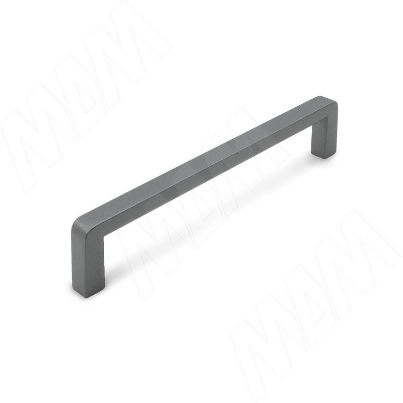 Ручка-скоба 128мм графит (BH.03.128.GF)