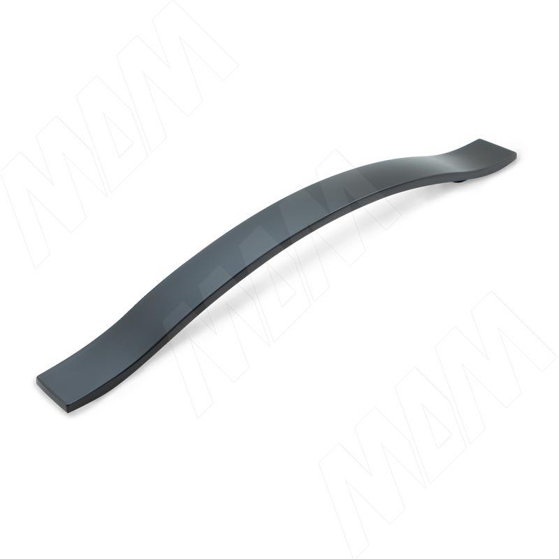 Ручка-скоба 160мм черный матовый (BH.12.160.BLM)