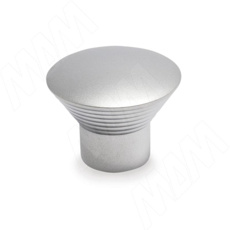 Ручка-кнопка D29мм хром матовый (GA0808) ручка кнопка d29мм хром ga0804