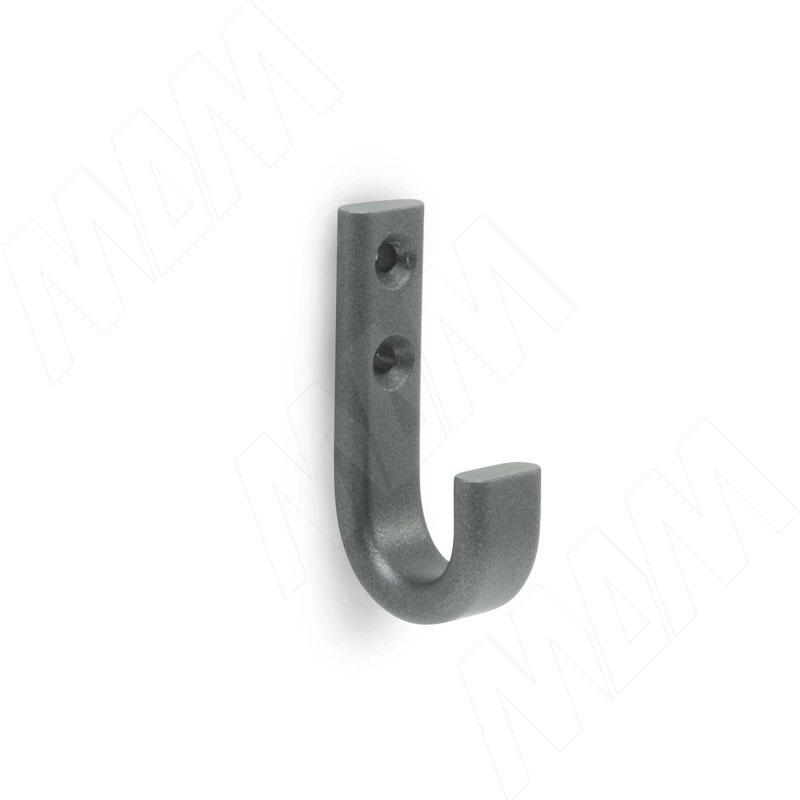 Крючок однорожковый графит (HK.01.GR)