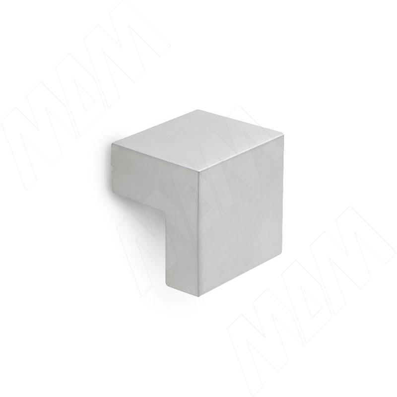 Ручка-кнопка 16мм хром матовый (KH.01.016.SC) ручка кнопка d29мм хром ga0804