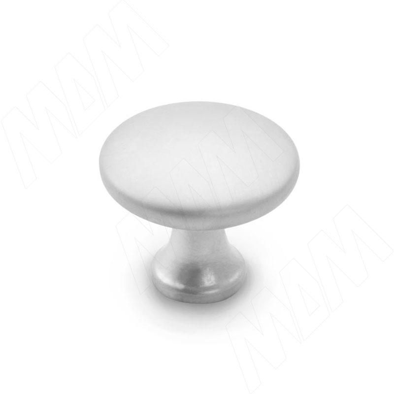 Ручка-кнопка хром матовый (KH.02.000.SC) ручка кнопка d29мм хром ga0804