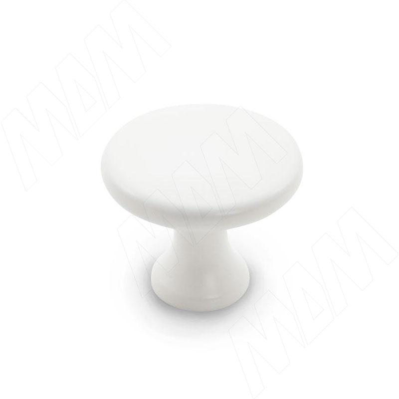 Ручка-кнопка белый матовый (KH.02.000.WTM)
