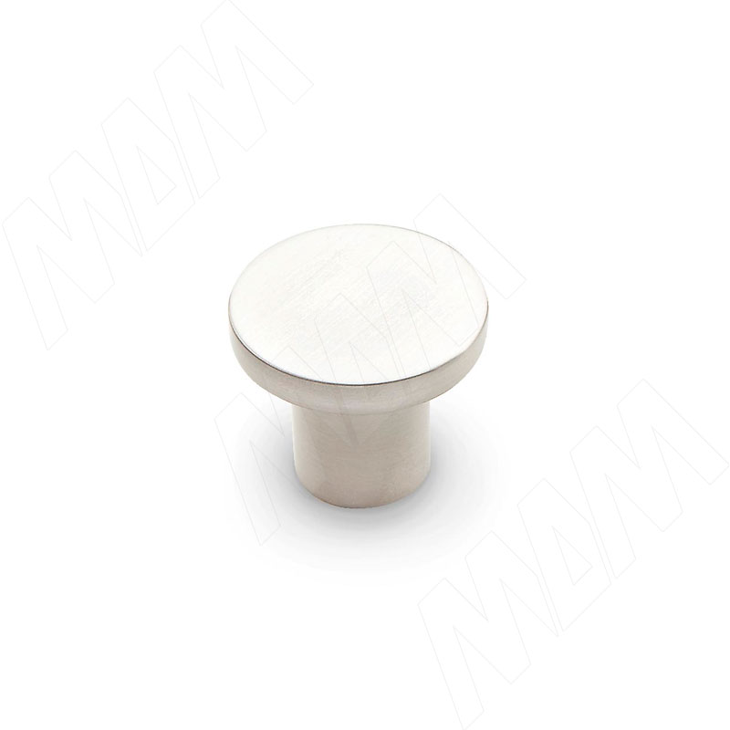 Ручка-кнопка нерж. сталь (KH.03.000.BN) кельма hardy четырехугольная нерж сталь 16х11см 2 х комп ручка