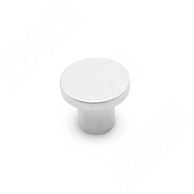 Ручка-кнопка хром (KH.03.000.PC) ручка кнопка d29мм хром ga0804