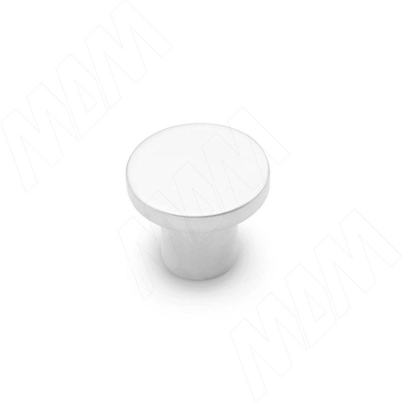 Ручка-кнопка хром матовый (KH.03.000.SC) ручка кнопка d29мм хром ga0804