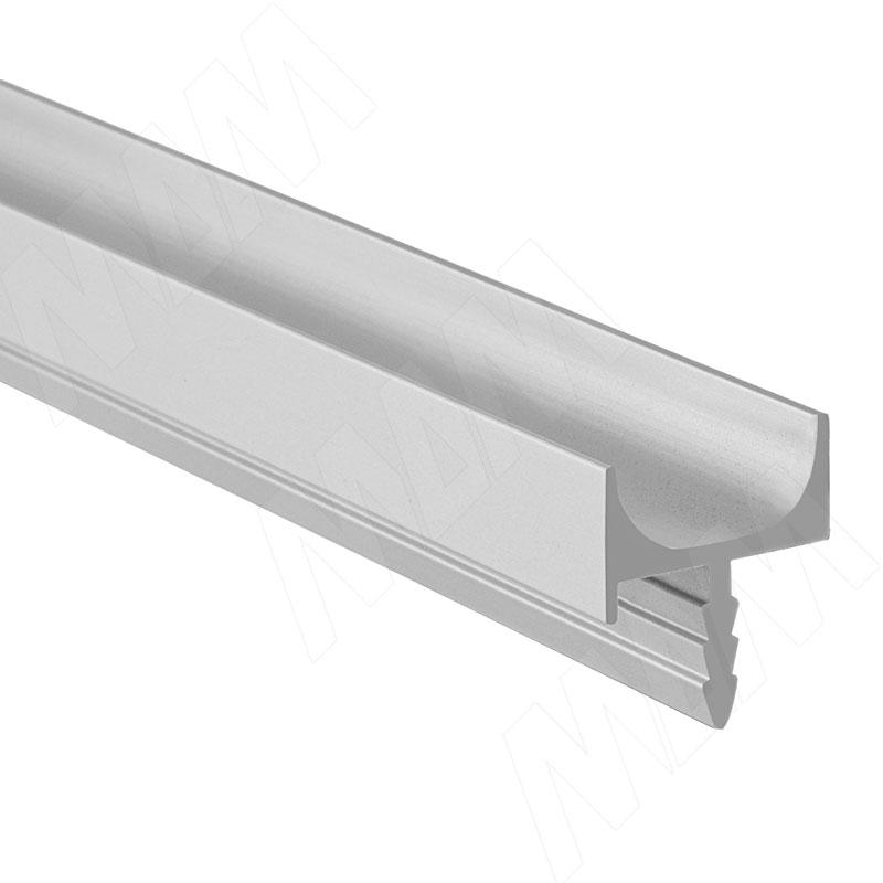 Фото - Профиль-ручка врезная для фасада 18мм, алюминий матовый, L-5500мм (LKW4AA) профиль ручка 200мм врезная алюминий матовый 35 200 aa