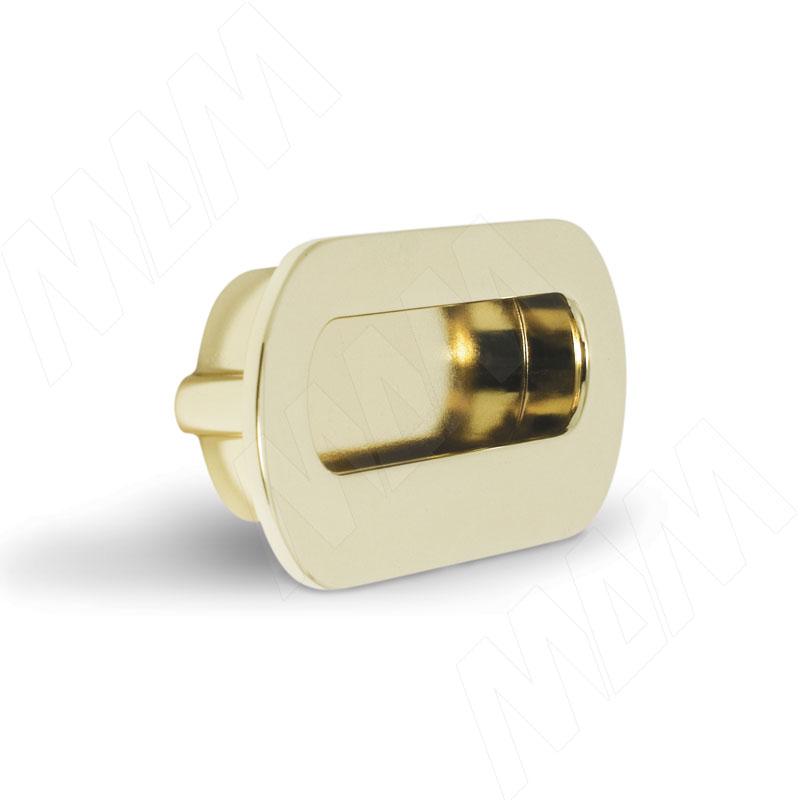Ручка-раковина 96мм золото (MD1203/96) ручка раковина 96мм титан 405c 96 69