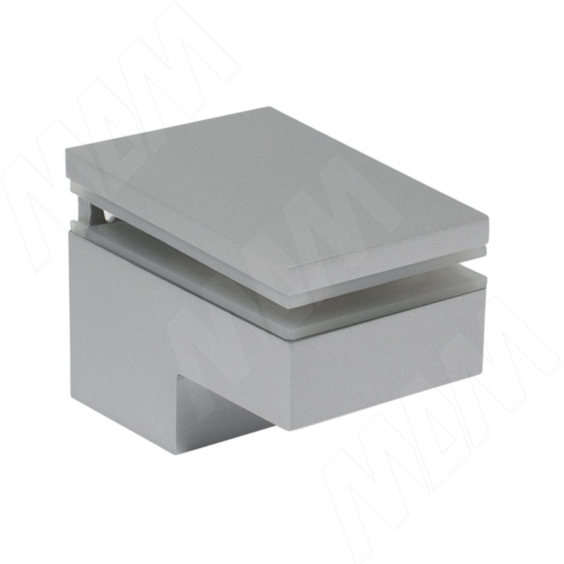 Менсолодержатель 40Х60 мм для деревянных и стеклянных полок 6 - 25 мм, хром матовый (2 шт.) (MS.1437.AP) kaiman менсолодержатель для деревянных и стеклянных полок 7 41 мм хром матовый 2 шт 7033 50