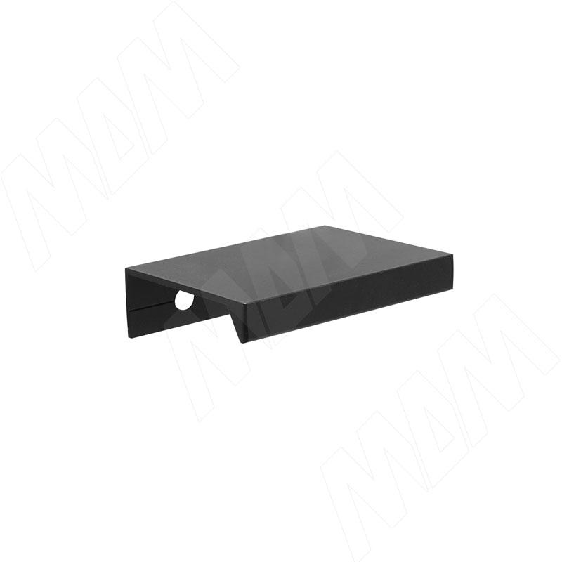 Профиль-ручка 32мм крепление саморезами черный матовый (PH.RU01.032.BL) ручка раковина 160мм крепление саморезами черный матовый sh ru2 160 bl