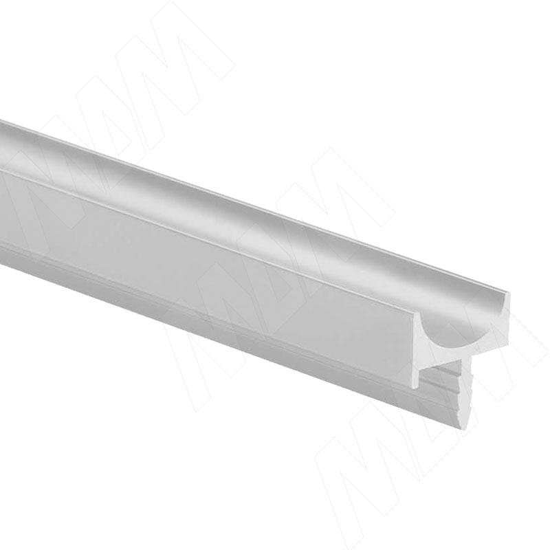 Профиль-ручка врезная для фасада 16/18мм, алюминий матовый, L-3000мм (PH.RU06.3000.AL PR) 0 pr на 100