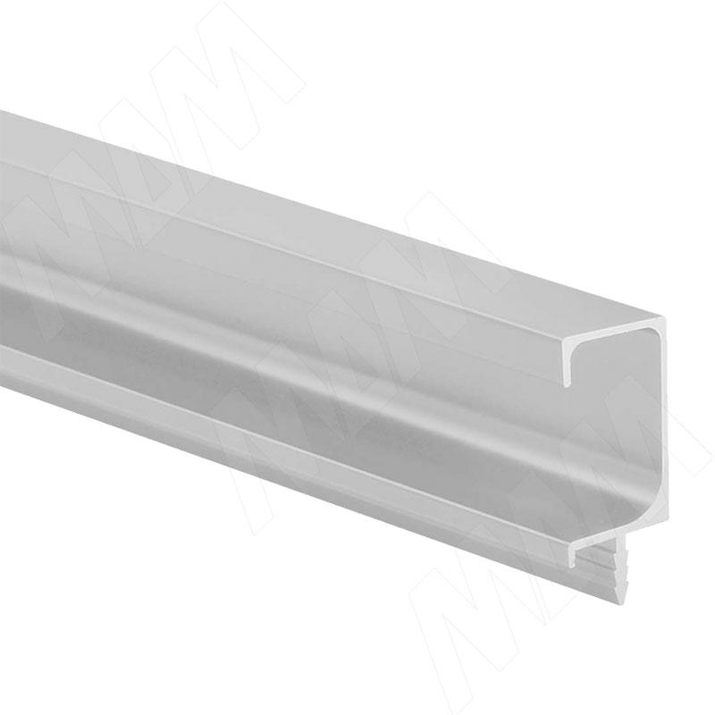 Профиль-ручка врезная для фасада 18мм, алюминий матовый, L-3000мм (PH.RU08.3000.AL PR) 0 pr на 100