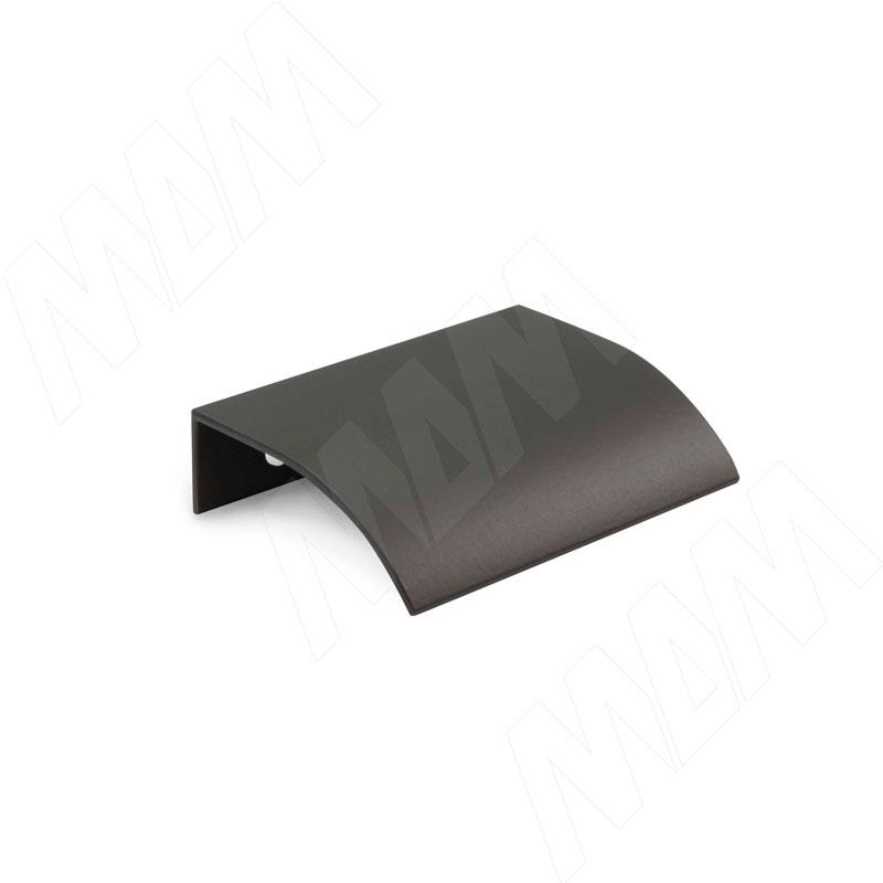 Фото - Профиль-ручка 32мм крепление саморезами черный матовый (PH.RU15.032.BL) профиль ручка 600мм крепление саморезами черный матовый 27 600 7w