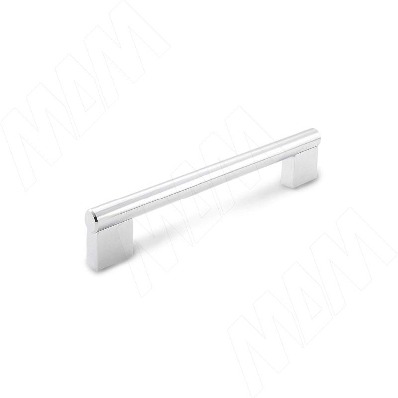 Ручка-рейлинг 128мм хром (RH.02.128.PC)