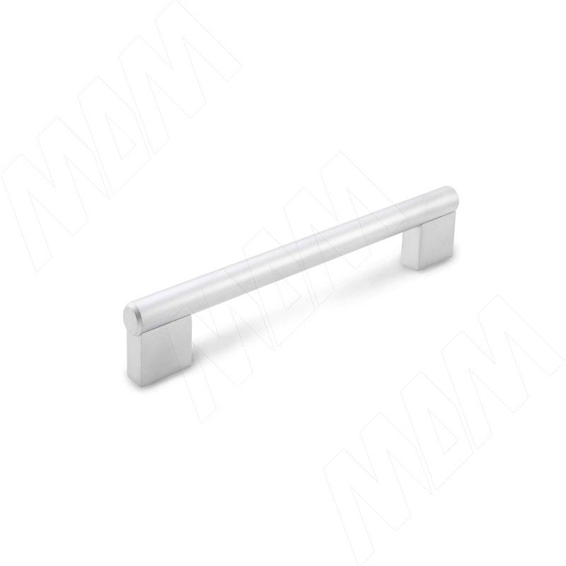 Ручка-рейлинг 128мм хром матовый (RH.02.128.SC) ручка рейлинг 128мм никель матовый rh 01 128 sn