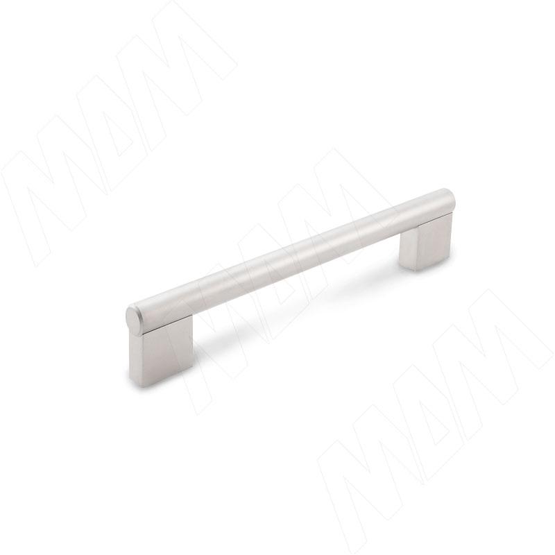 Ручка-рейлинг 128мм никель матовый (RH.02.128.SN) ручка рейлинг 128мм никель матовый rh 01 128 sn