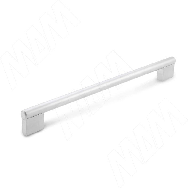 Ручка-рейлинг 192мм хром матовый (RH.02.192.SC)