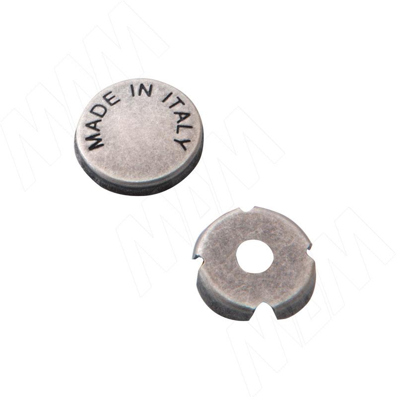Заглушка для винта серебро состаренное (SCR.001.014.0015)