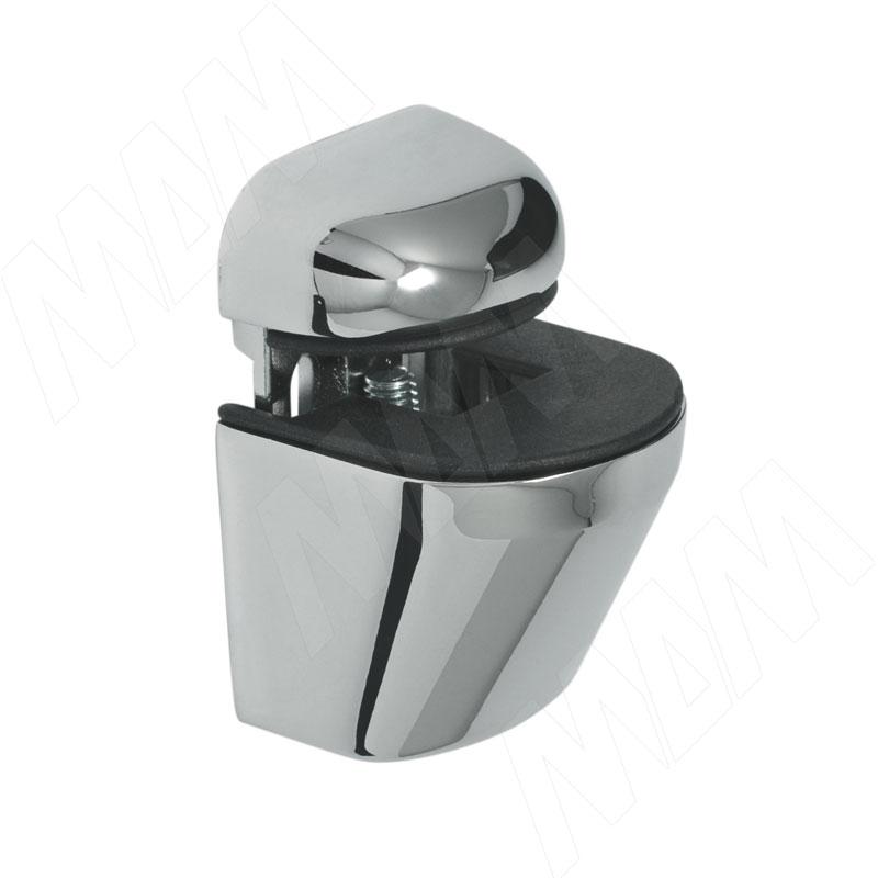 ПЕЛИКАН Менсолодержатель для деревянных и стеклянных полок 4 - 22 мм, хром (SU02A CR) nowley nowley 8 5382 0 5