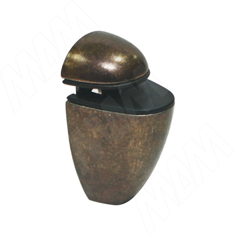 ПЕЛИКАН Менсолодержатель для деревянных и стеклянных полок 4 - 20 мм, бронза патинированная (SU35A BR) колготки allure vista 20 цвет glase бронза размер 4