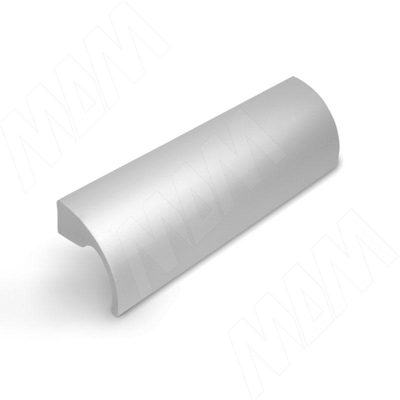 Фото - Профиль-ручка 128мм алюминий матовый (UA01C00/128) профиль ручка 200мм врезная алюминий матовый 35 200 aa