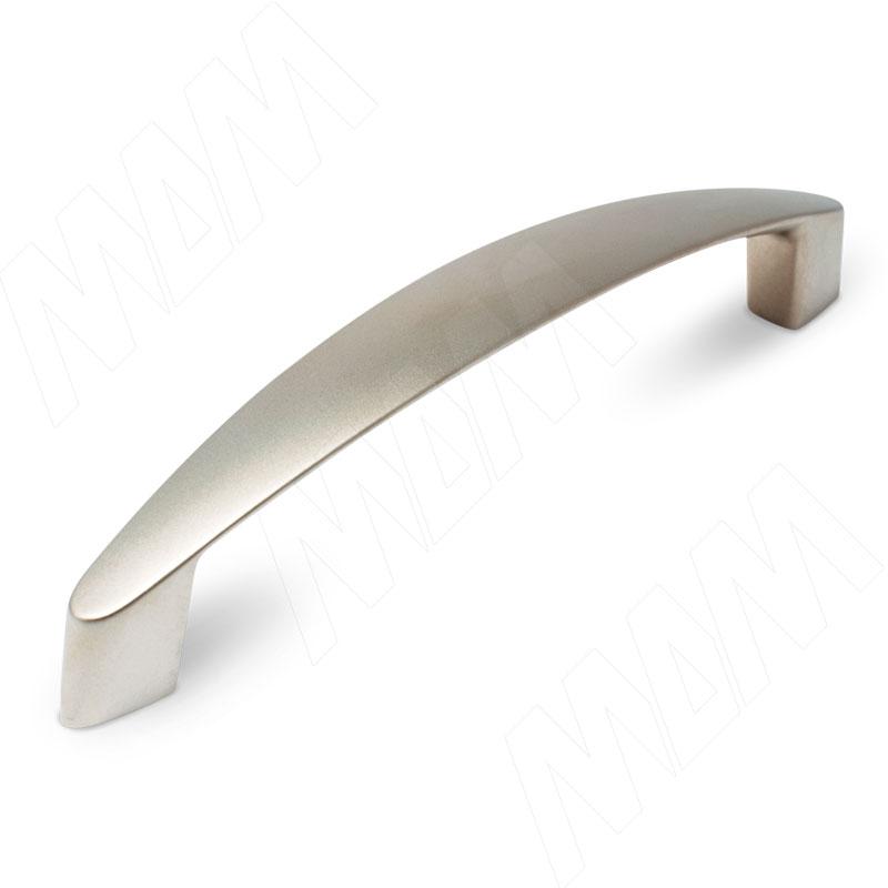 Ручка-скоба 128мм никель матовый UN1706 - Купить в интернет-магазине в Москве и России. МДМ. Все для мебели.