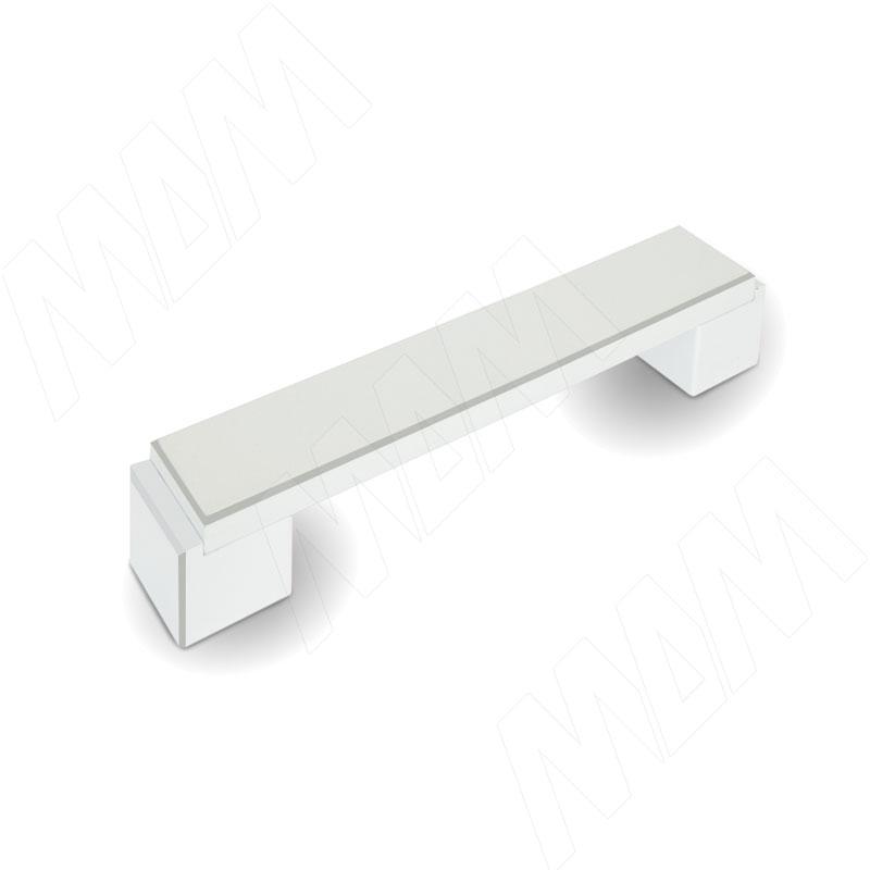 RITTO Ручка-скоба 128мм белый с шлиф. гранями US48R16/128 - Купить в интернет-магазине в Москве и России. МДМ. Все для мебели.
