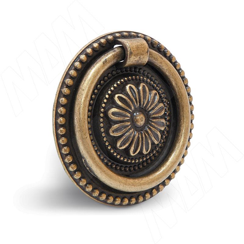 Ручка-капля бронза состаренная (WBH.5017.00A.00D1)