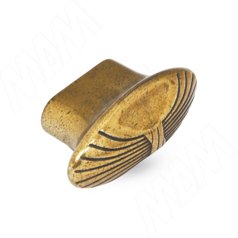 Ручка-кнопка бронза Орваль (WPO.503.000.00A8) ручка кнопка d25мм бронза орваль wpo 811 025 00a8