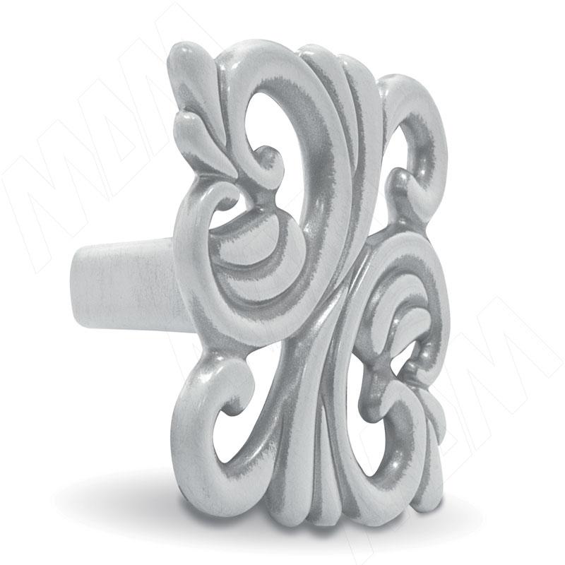 Ручка-кнопка 32мм белый/серебро винтаж (WPO.707.032.00V4) ручка кнопка медь винтаж wpo 762 000 00c5