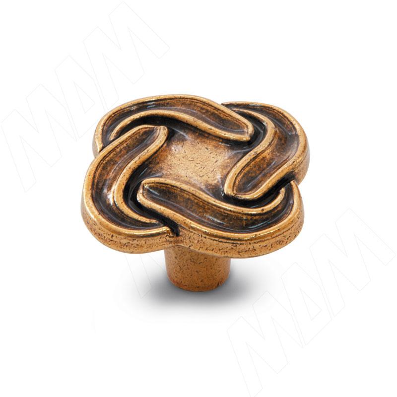Ручка-кнопка бронза Орваль (WPO.745.000.00A8) ручка кнопка d25мм бронза орваль wpo 811 025 00a8