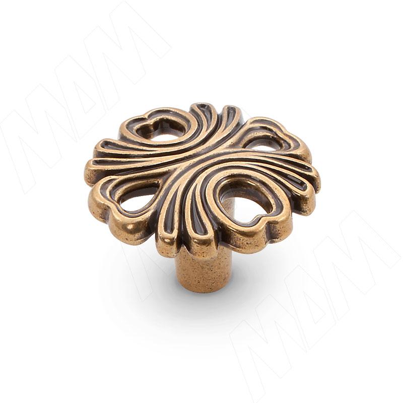 Ручка-кнопка бронза Орваль (WPO.829.000.00A8) ручка кнопка d25мм бронза орваль wpo 811 025 00a8
