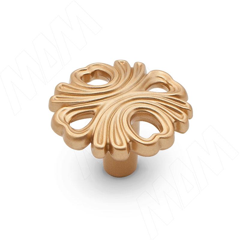 Ручка-кнопка золото матовое Милан (WPO.829.000.00R8)