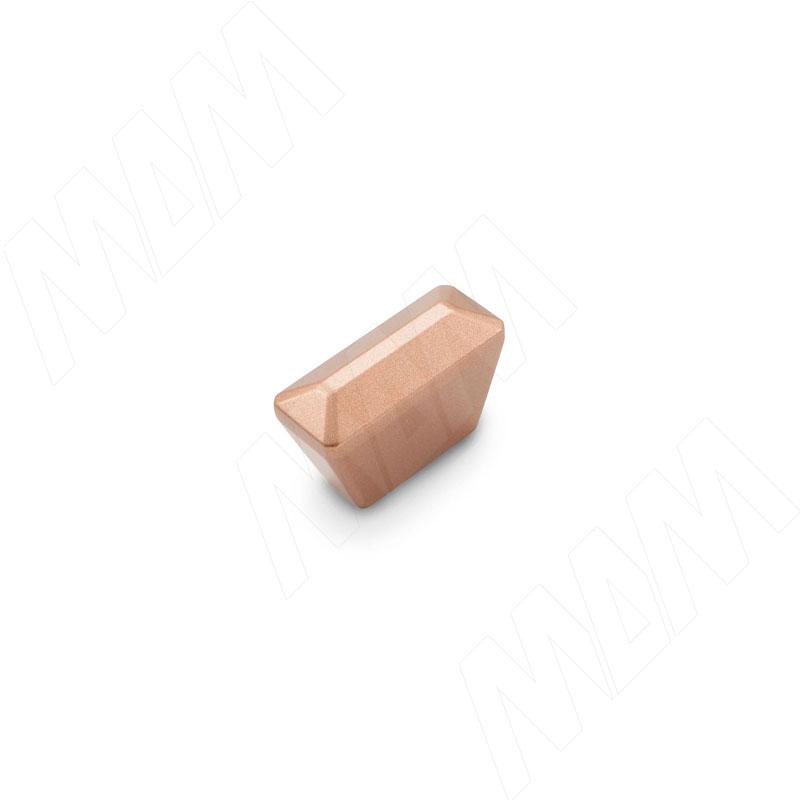 Ручка-кнопка 16мм медь бурая (WPO.843.016.005B) ручка кнопка медь винтаж wpo 762 000 00c5