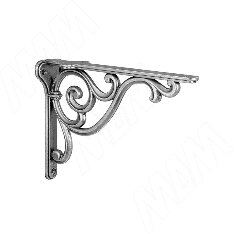 ROME Менсолодержатель для деревянных полок L-150 мм, серебро состаренное (WRM.800.150.00AN) недорого