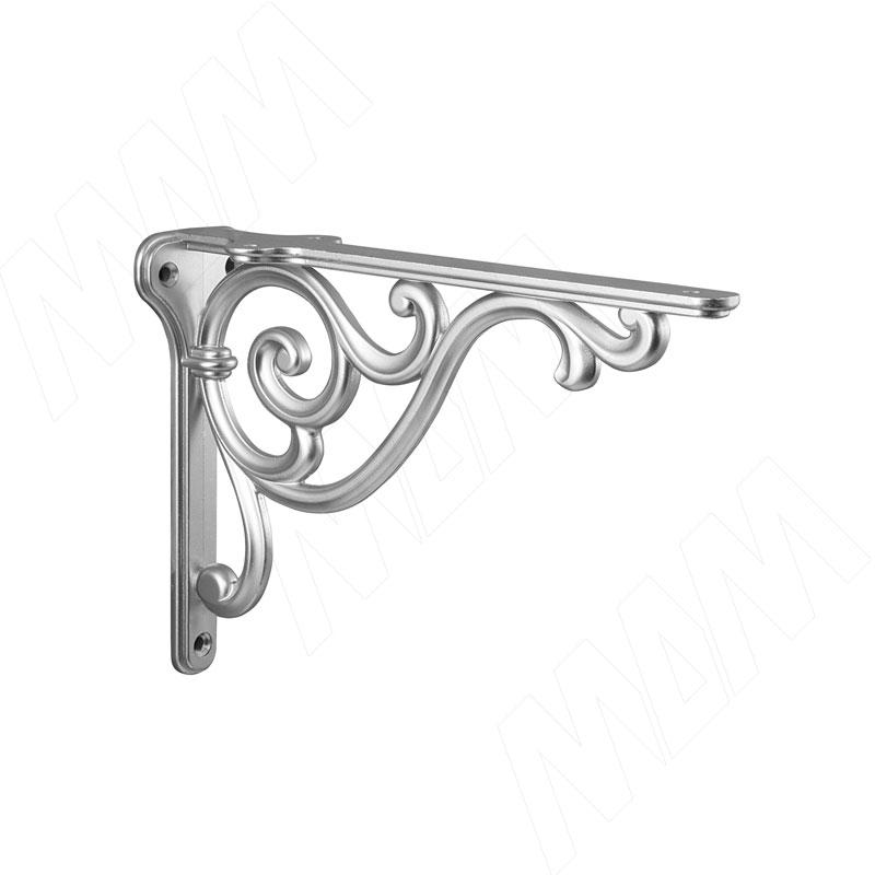 ROME Менсолодержатель для деревянных полок L-150 мм, серебро Ноттингем (WRM.800.150.00R3) недорого