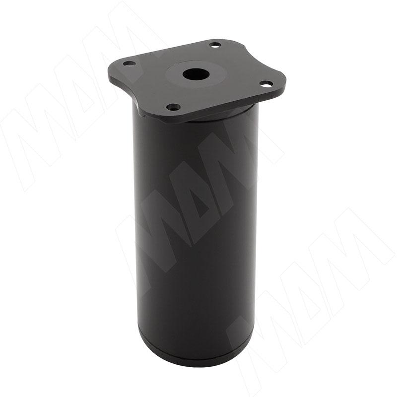 Опора декоративная Н100+18мм черный матовый (ADJ7.100.BL)