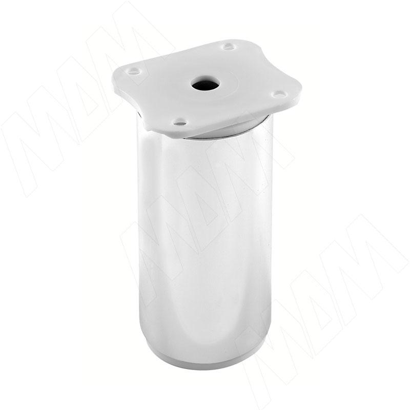 Опора декоративная D40мм, Н100+18мм хром (ADJ7.100.CR)