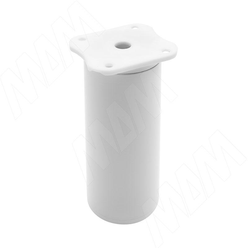 Опора декоративная Н100+18мм белый (ADJ7.100.WHT)