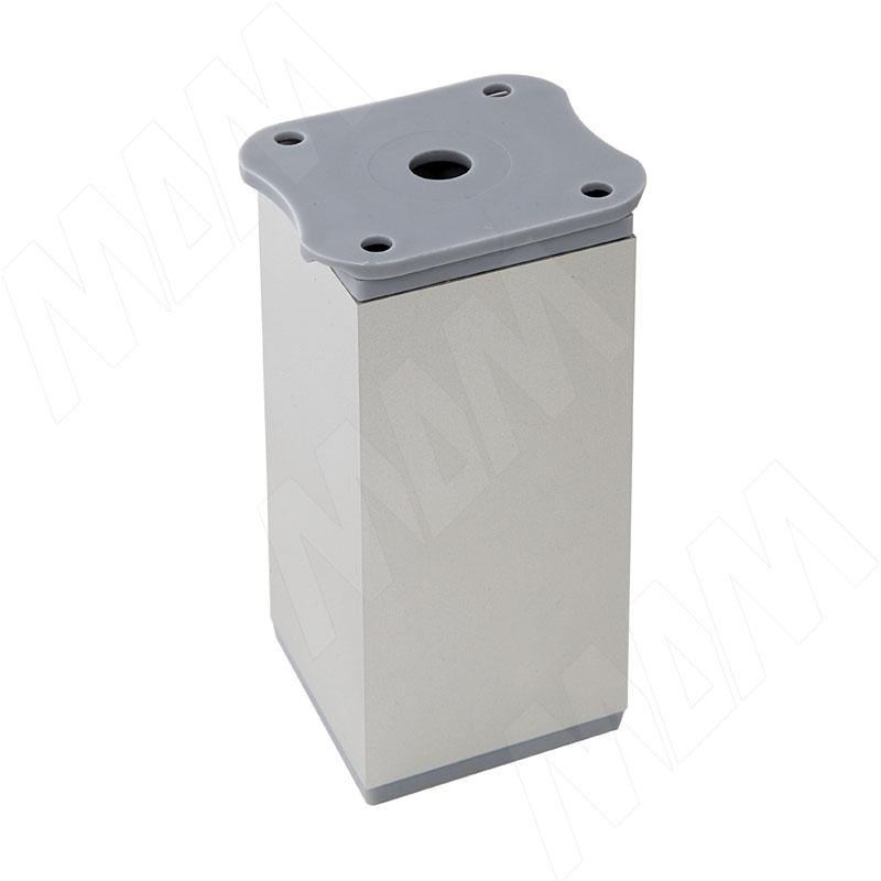 Опора декоративная Н100+18мм алюминий (ADJ8.100.AL)